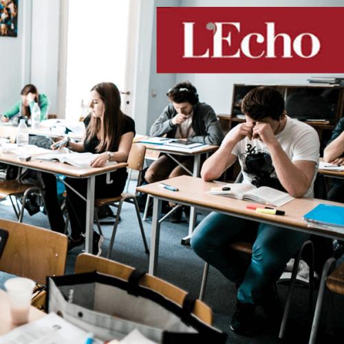 Un blocus assisté favorise la réussite - journal l'Echo | Student Academy | Blocus Assisté