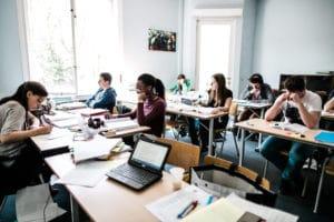 Etudiants en Blocus assisté à la Student Academy | Bruxelles - Louvain-la-Neuve - Liège - Namur