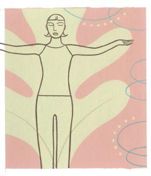 Yoga, Extension latérale des bras