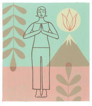 Yoga, posture de la montagne