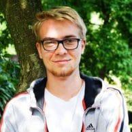 Student Academy Nathan G., en 6ème secondaire.
