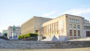 La Bibliothèque Royale de Belgique | lieu pour étudier en période de blocus et examen à Bruxelles