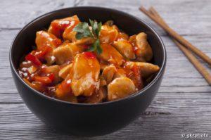 Poulet sauce aigre douce à l'ananas | recettes faciles et healthy