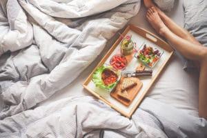 manger sainement et dormir tôt