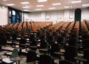 Les auditoires de l'UCL | lieu pour étudier en période de blocus et examen à Louvain-la-Neuve