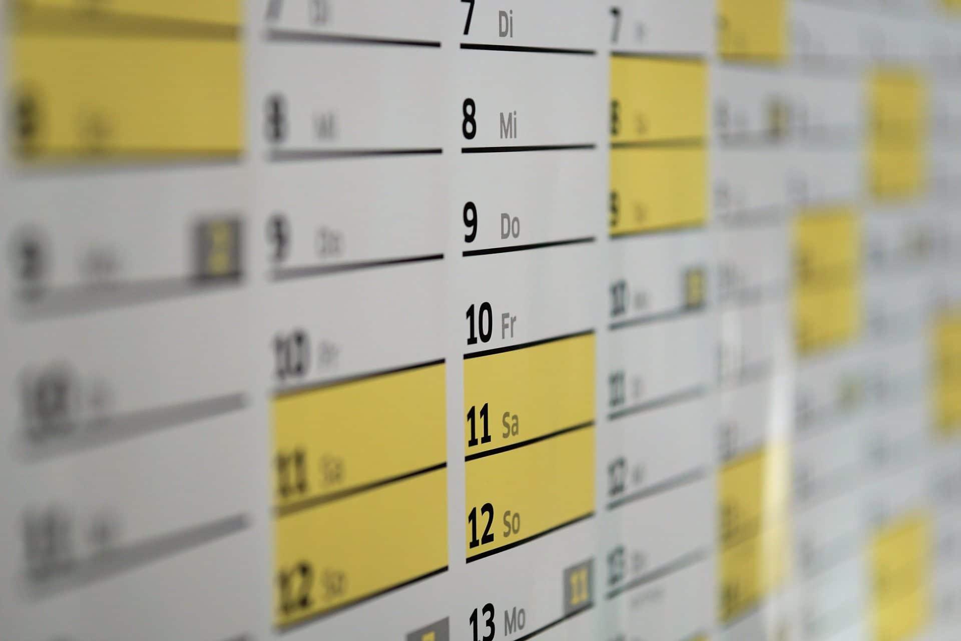 Student Academy Télécharge ton calendrier scolaire !