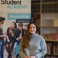 Student Academy Lara de G., bac1 étudiante en sociologie et anthropologie à l'ULB