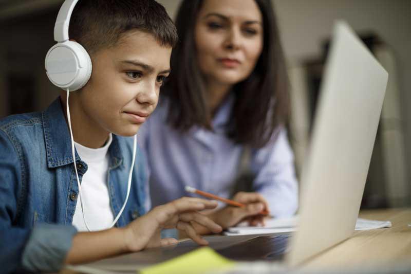 Cours particuliers en ligne – primaire