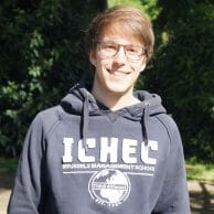 Student Academy Benoît P., bac3 à l'ICHEC